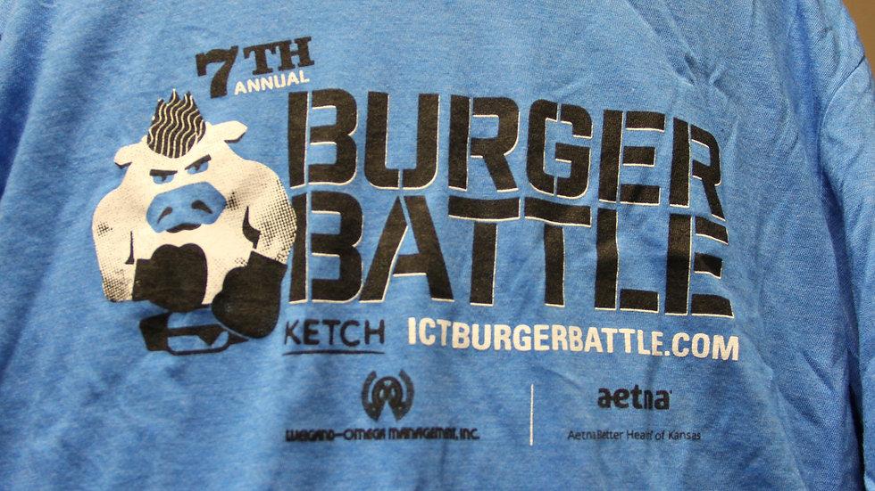 2019 Blue Burger Battle T-shirt