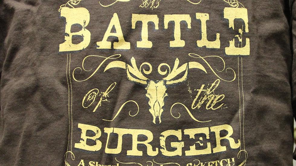 Brown 2013 Battle of the Burger T-shirt
