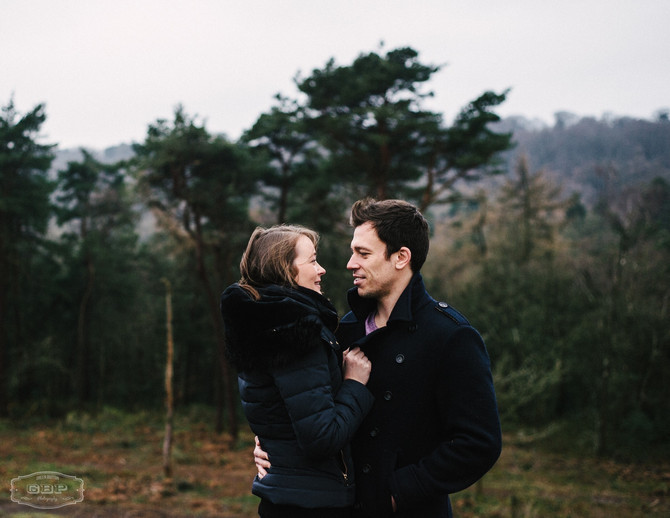 Lickey Hills Engagement Shoot