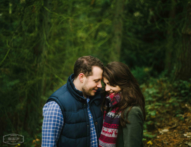 Tom + Megan - Malvern Hills Engagement Shoot