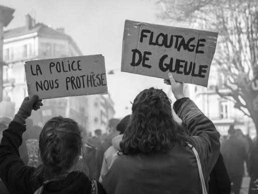 MANIFESTATION CONTRE LA LOI SECURITE GLOBALE - 28 NOVEMBRE 2020 - GRENOBLE
