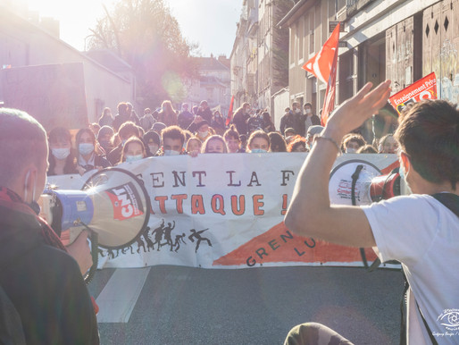 Grève sanitaire des enseignants à Grenoble