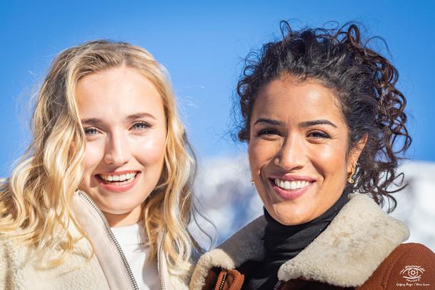 Chloé Jouannet et Sabrina Ouazani