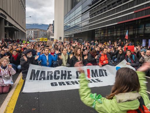 Marche pour le climat à Grenoble