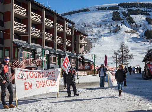 Grève des saisonniers dans les stations de ski