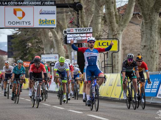 5ème étape de la course cycliste Paris-Nice 2020