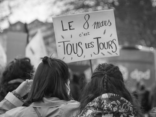 MANIFESTATION POUR LE DROIT DES FEMMES