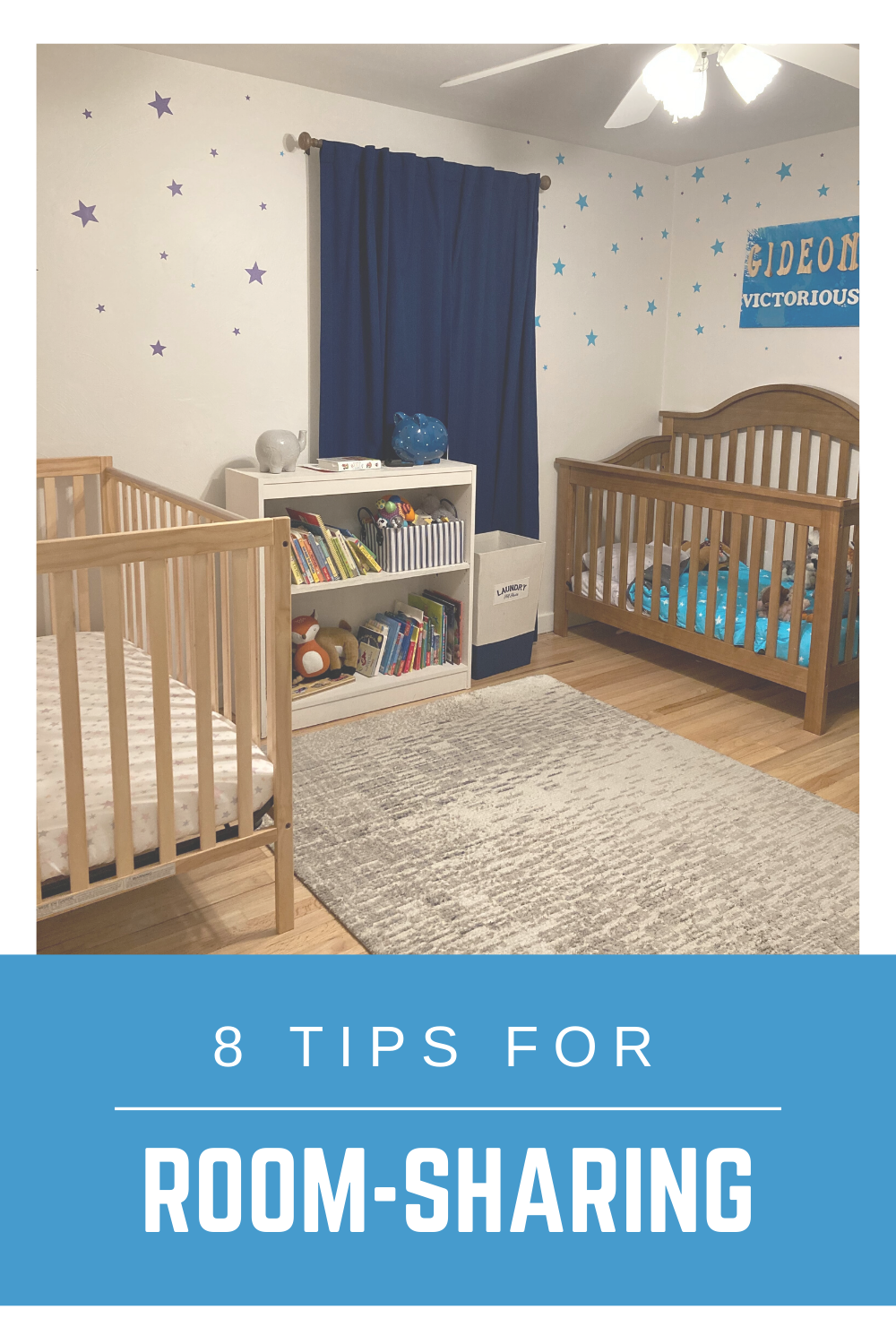 Little Bell Sleep Solutions, room-sharing with siblings, tips for room-sharing, two cribs, nursery décor, Pittsburgh sleep consultant