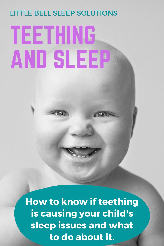 Little Bell Sleep Solutions, teething and sleep, how does teething affect sleep, how does teething effect sleep, teething and sleep issues, Pittsburgh sleep consultant, pediatric sleep consultant, sleep coach