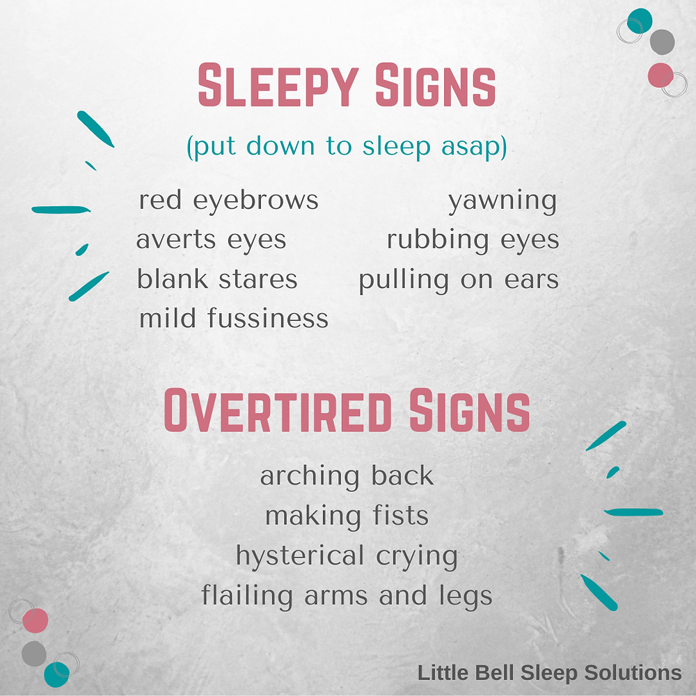 Little Bell Sleep Solutions, sleepy cues, sleepy signs, signs of overtiredness, baby tired signs, is my baby overtired, pediatric sleep consultant, Pittsburgh sleep coach