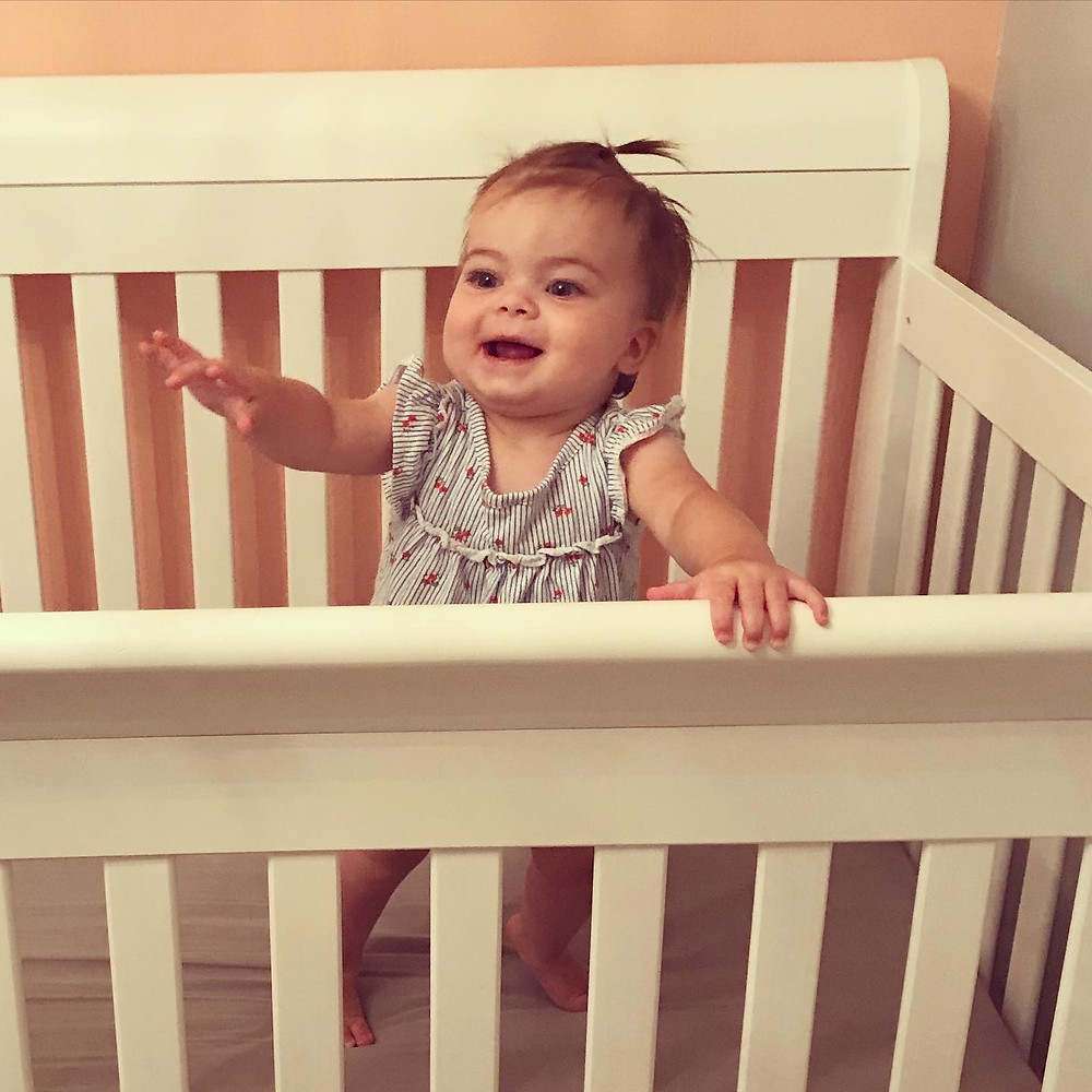 Little Bell Sleep Solutions, standing in crib, milestones, sleep regressions, Pittsburgh sleep coach, sleep dependencies