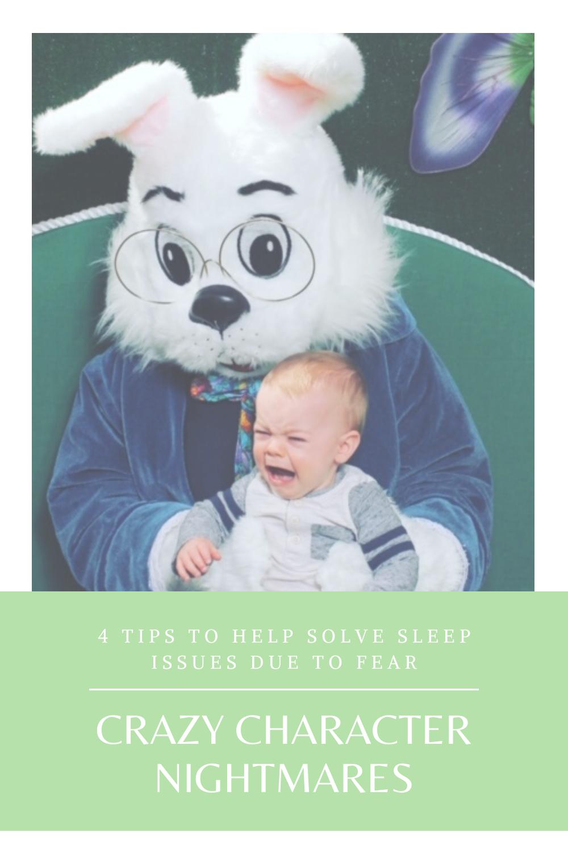 Little Bell Sleep Solutions, can babies have nightmares, pediatric sleep consultant, Pittsburgh, Pennsylvania, baby sleep coach, Easter Bunny fears