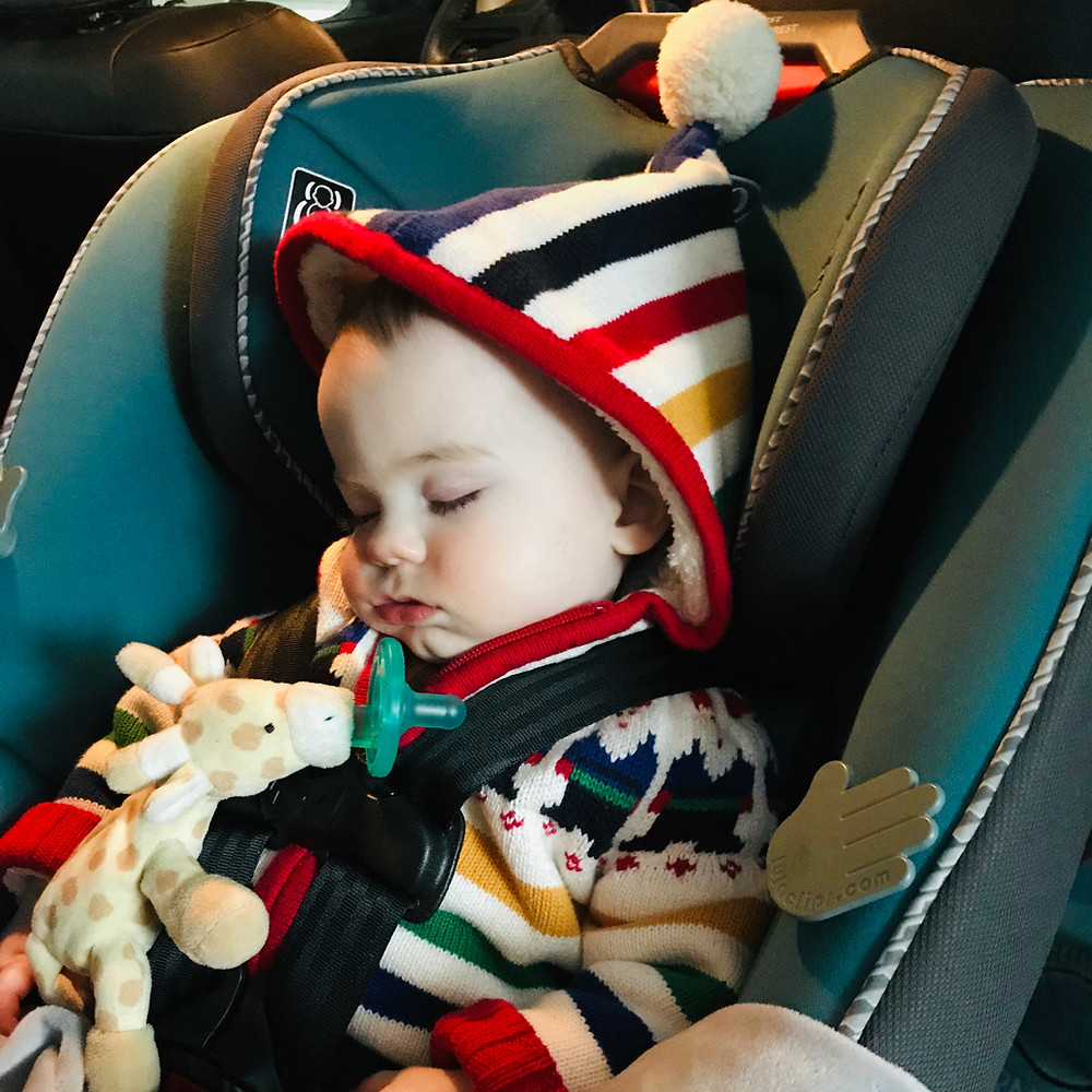 Little Bell Sleep Solutions, car nap, falling asleep in the car, baby sleeping in car, pediatric sleep consultant