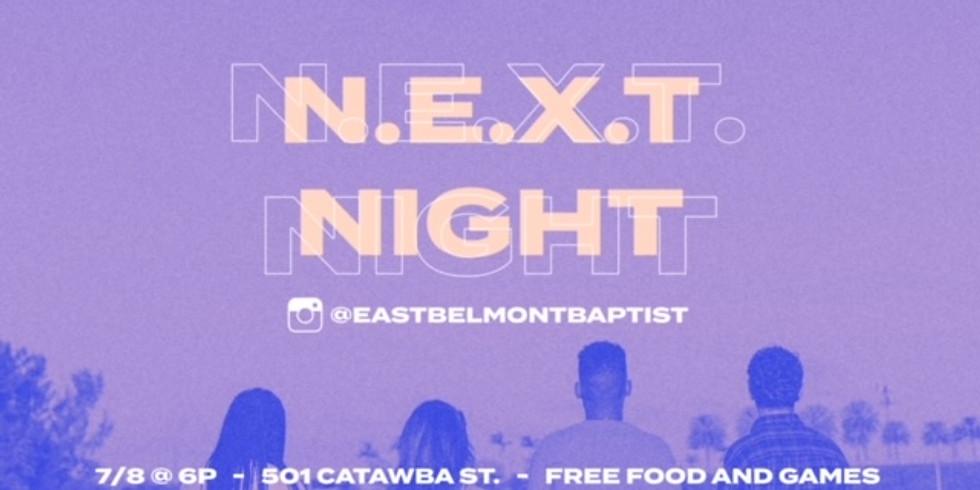 N.E.X.T. Night Youth Community Outreach