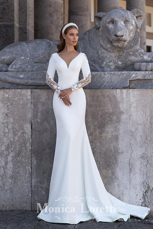 Monica Loretti 8141 Sample Sale Gown Size 10