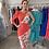 Thumbnail: Sabrina Dress (coral/floral)