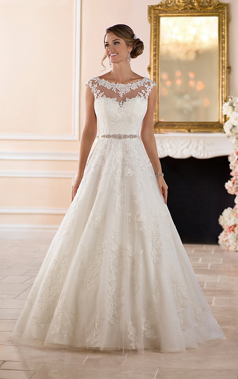 Stella York 6303 Sample Sale Gown Size 24