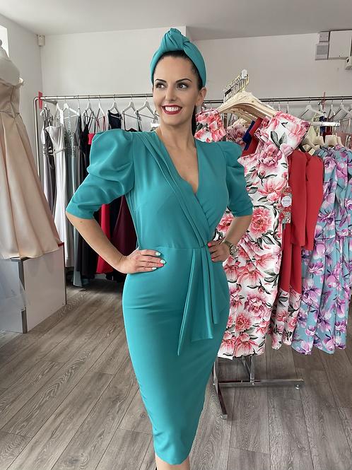 Miranda Dress (turquoise)