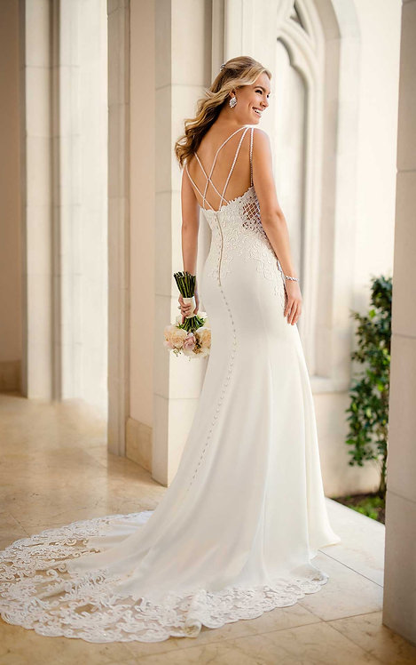 Stella York 6586 Sample Sale Gown Size 10