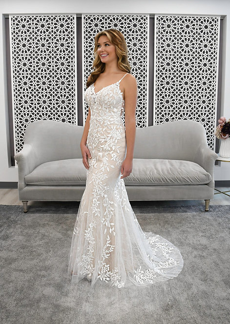 Stella York Sample Sale Gown Size 12