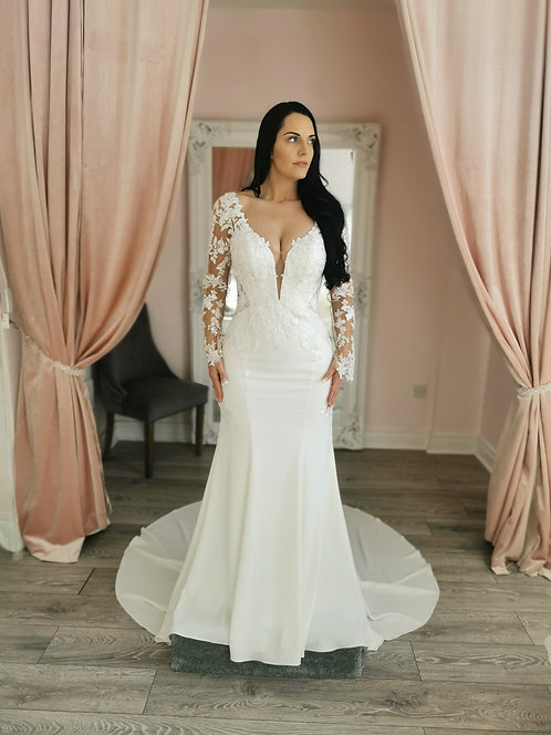Stella York 6994 Sample Sale Gown Size 12