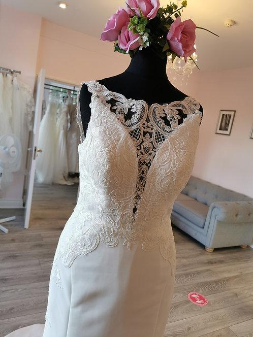Stella York 6827 Sample Sale Gown Size 10