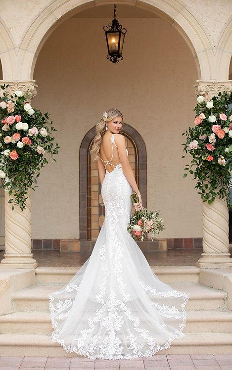 Stella York 7100 Sample Sale Gown Size14