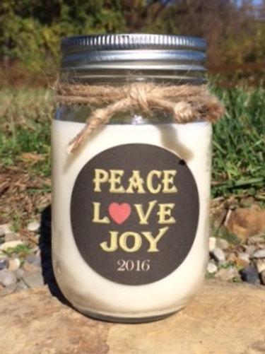 PEACE-LOVE-JOY CURRENT YEAR