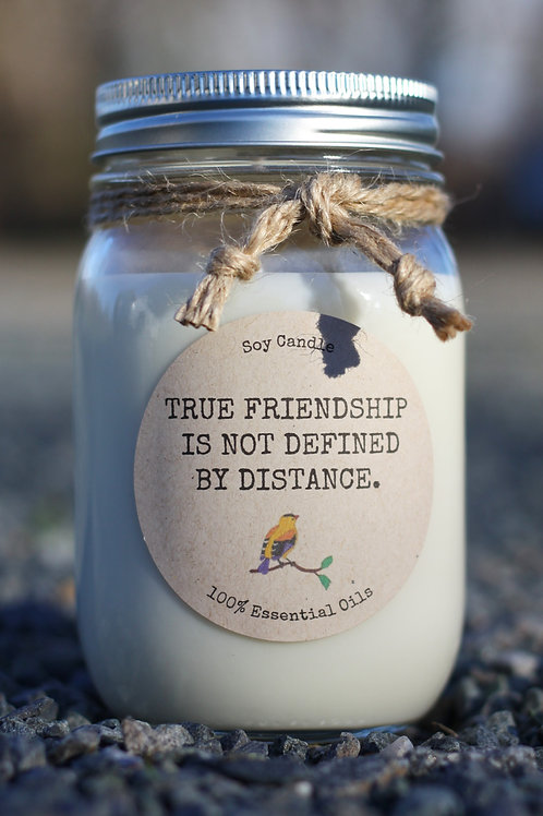 FRIENDSHIP AND DISTANCE