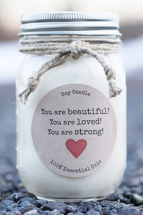 BEAUTIFUL LOVED STRONG