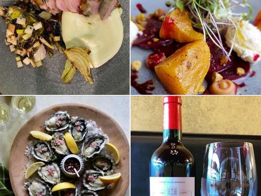 Paris Wine Club, Dining-In, Updated Menu