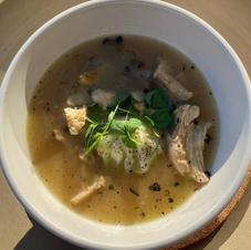 Polish Chicken Rosol Soup