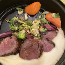 Chateaubriand with Celeriac Puree