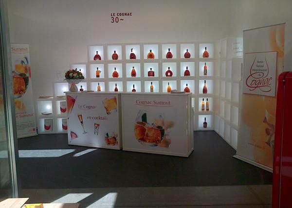 stand exposition cognac