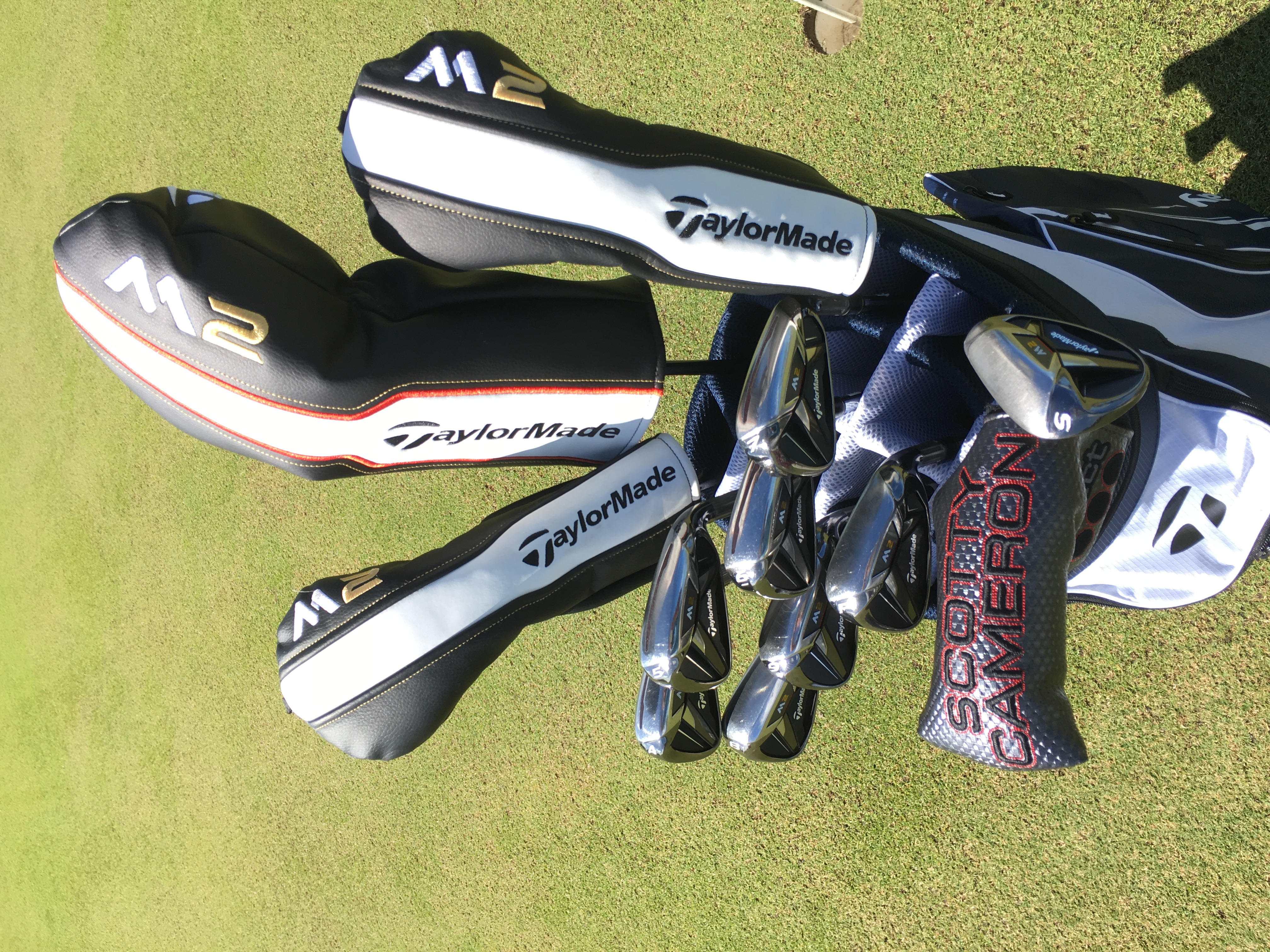 Deluxe range TaylorMade m2 clubs