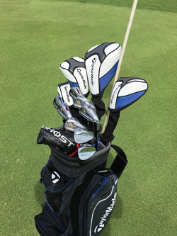Premium set Quality TaylorMade set, for hire when playing Cancun Golf Courses