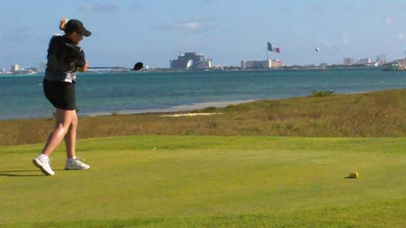 Puerto Cancun golf Course customer