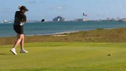 Puerto Cancun golf Course customer