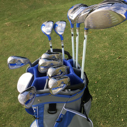 Lady Cobra set at cancun golf course