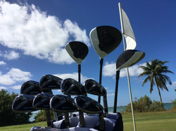 Cancun golf course with M2 rentals