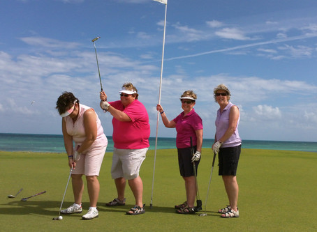 So your hotel offers Free golf at a beatiful Cancun golf course?