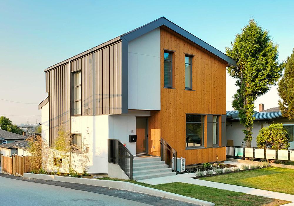 west coast house energy-efficient