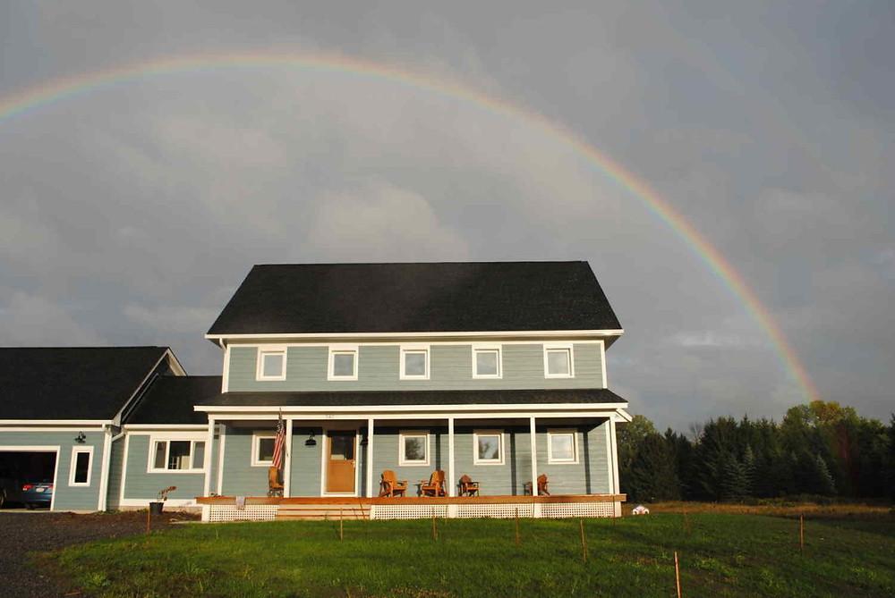 Farmhouse energy-efficient