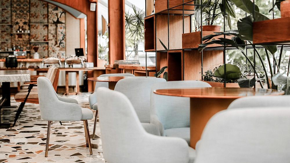 restaurant, biophilia, biophilic design