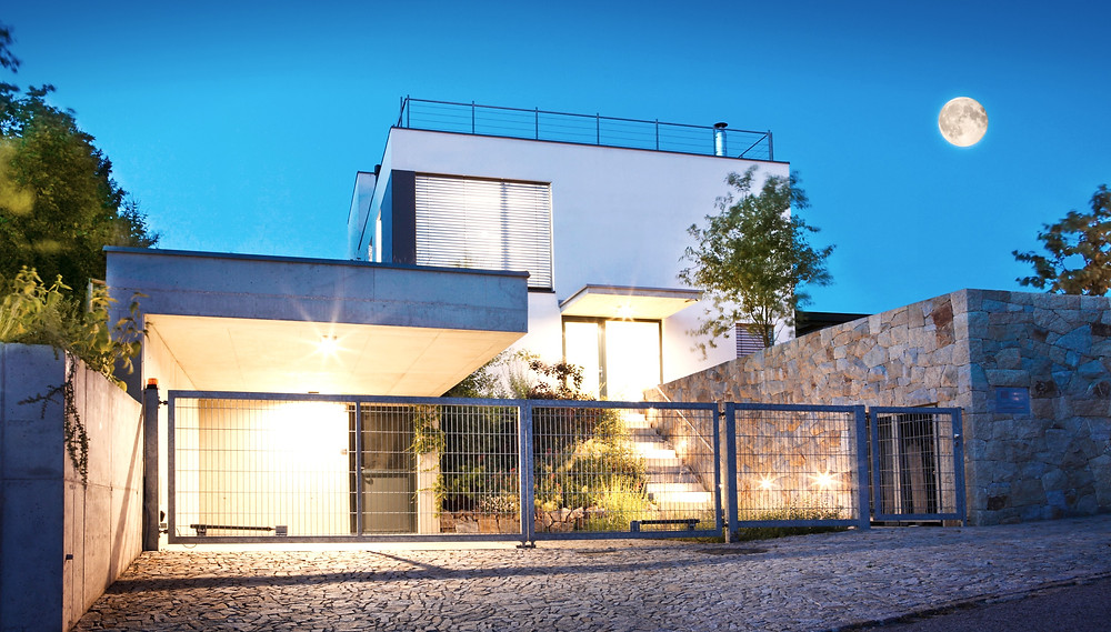 Modern home laconicism
