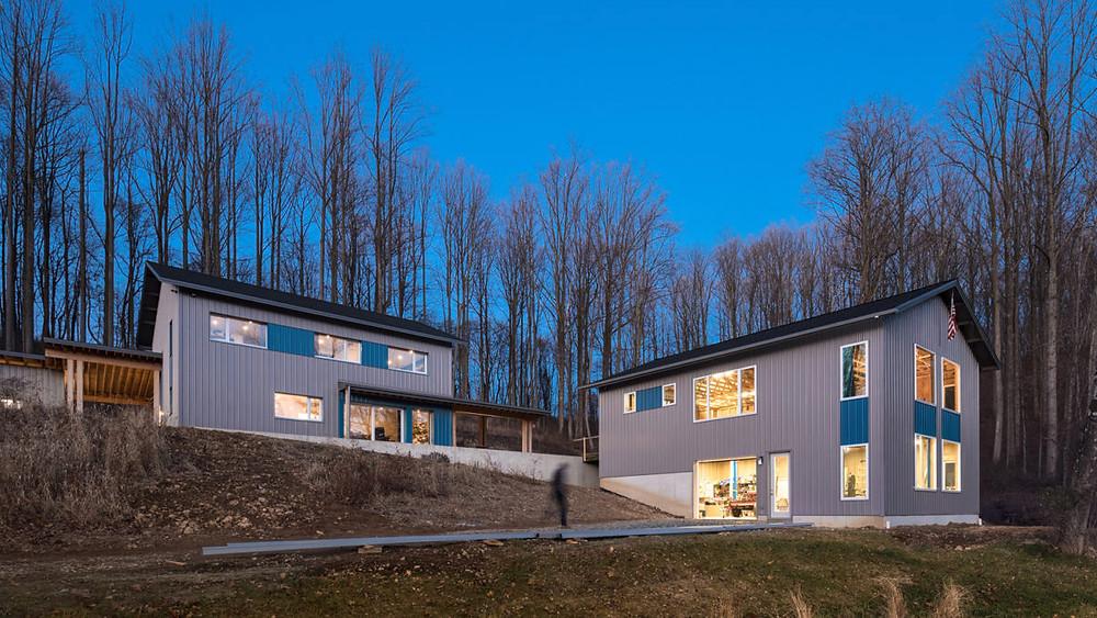 rural house  energy-efficient