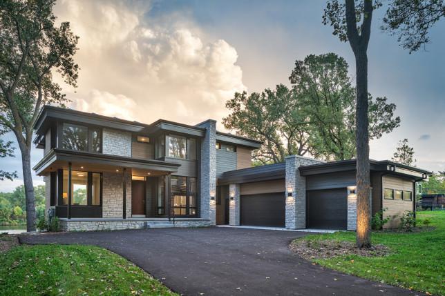 Modern house energy-efficient