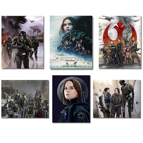 Rogue One A Star Wars Story Photos - 6 Pack of 8x10s Photographs Starring Felici