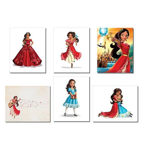 Elena of Avalor Wall Art Poster Prints - Set of Six 8x10 Photos - with Princess
