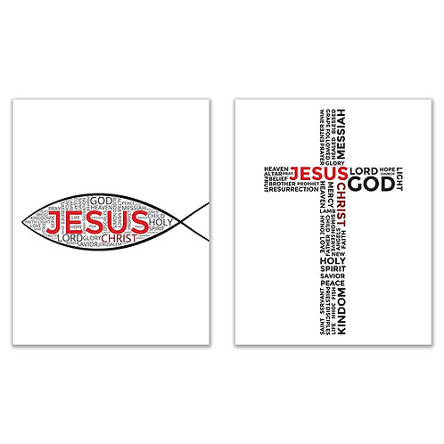 Jesus Fish - Sign of the Fish - Ichthys Prints - 8x10 Christian Photos
